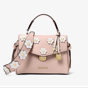 Micheal Kors Floral/ Flowers Pink Strap